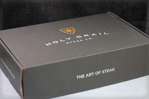 Holy Grail Deliveries Logo