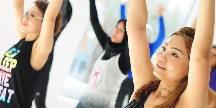 1 FREE live stream Pilates Mat class! offer image