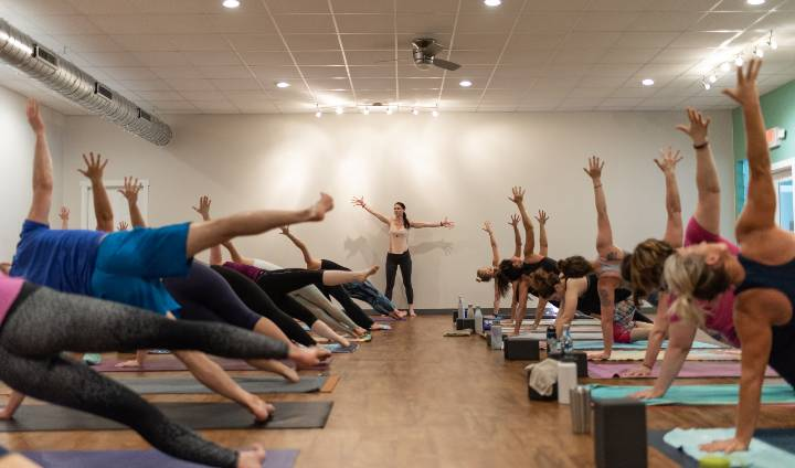 Ignite Power Yoga Studio About Us Image