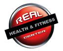 Real Health & Fitness Center Logo