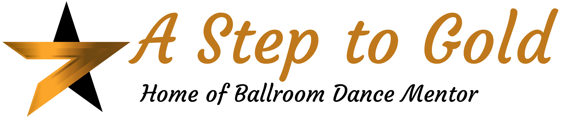 A Step To Gold International Ballroom Logo