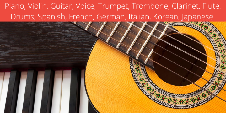 FREE In-Studio or Online Music Lesson & Registration at Language and Music House ($44 value!) - Partner Offer Image