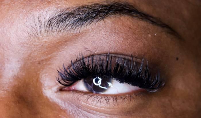 Eyelash Extensions In Studio Beauty