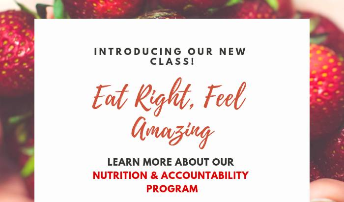 NUTRITION & ACCOUNTABILITY image