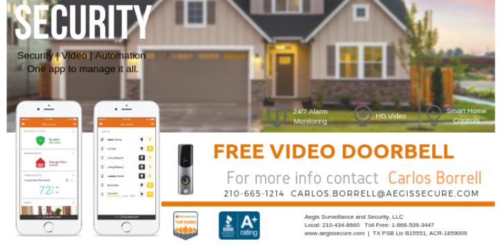EXCLUSIVE/New Client Offer Free Camera Door-Bell - Partner Offer Image