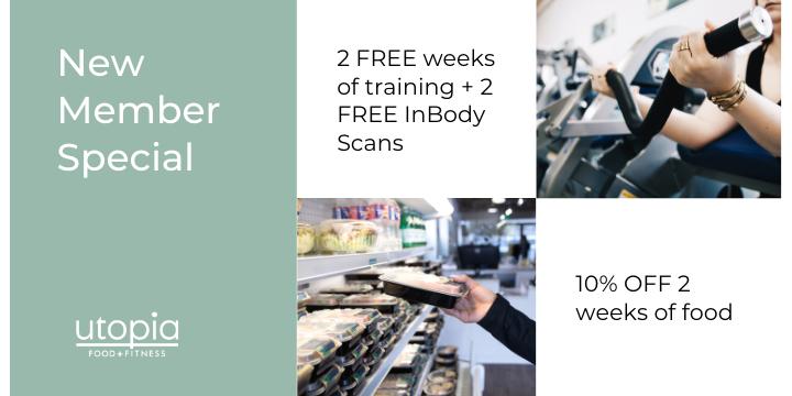 2 FREE weeks of training + 2 FREE InBody Scans + 10% OFF 2 weeks of food - Partner Offer Image