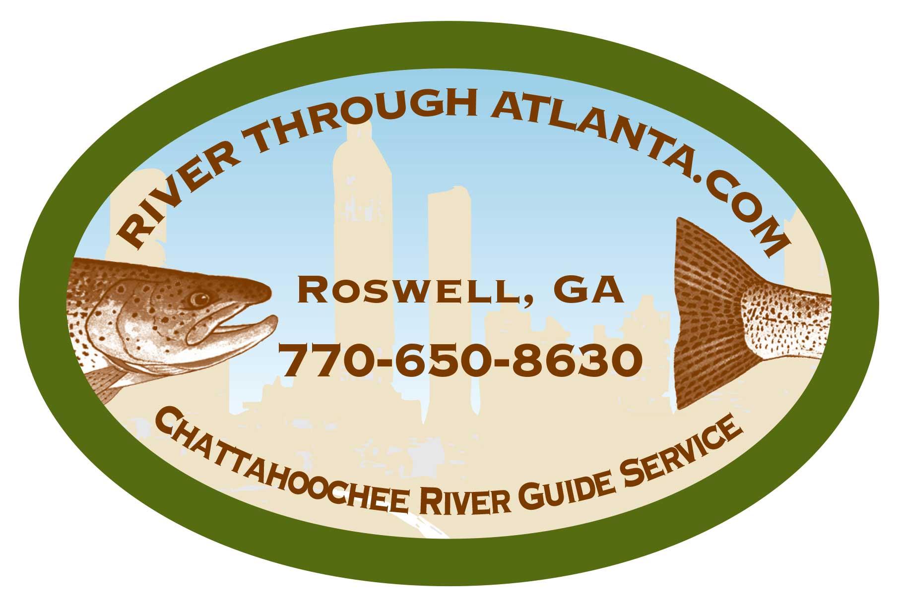 River Through Atlanta Logo