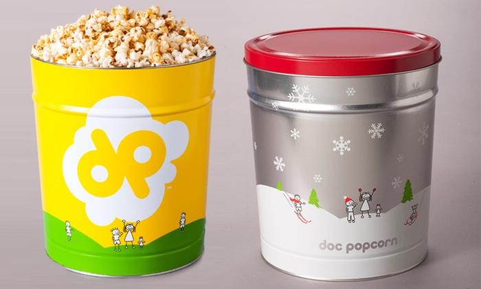 Doc Popcorn - Bladwin Hills Crenshaw Plaza Logo