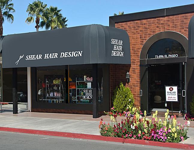 Shear Hair Design El Paseo Logo