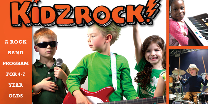 FREE KidzRock Trial (Band for ages 4-7) offer image