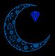 Opal Moon Body Adornments Logo
