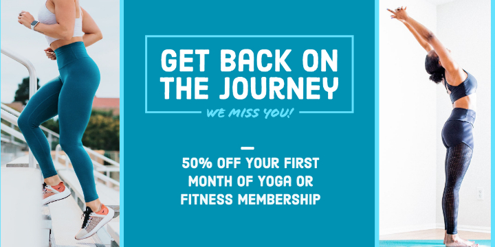$99 for Your First Month Back at Energia Fitness or  at Energia Yoga Studio (51% discount) - Partner Offer Image